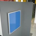 IR panel modre barve